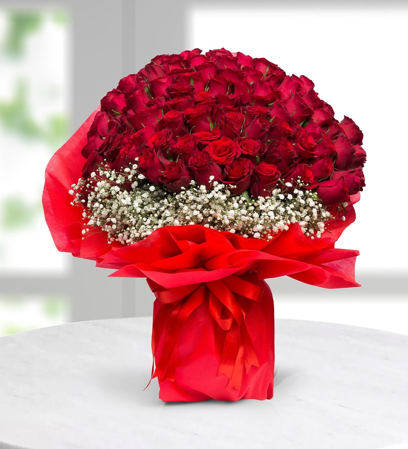 "e2d5f2fd90df Rose rosse per te""  bouquet di 100 rose"