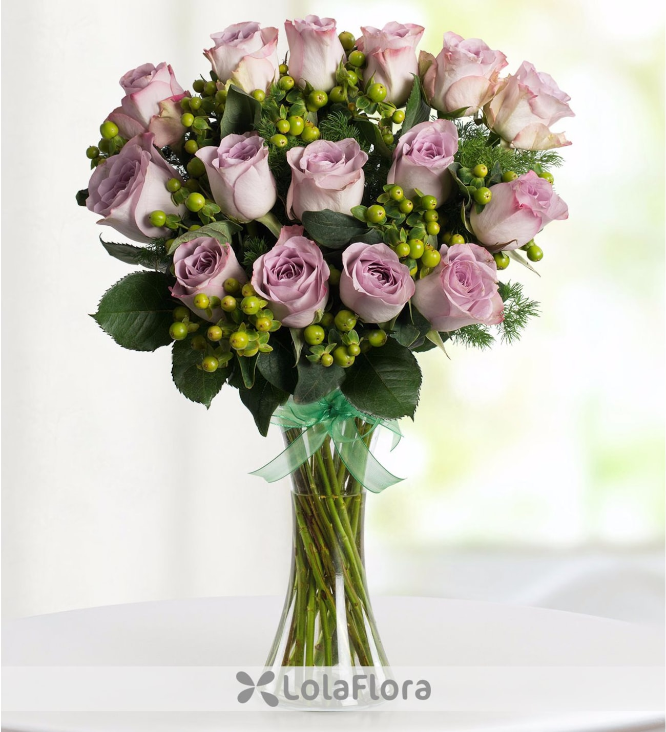 81a7eaf8b6a7 Sweetness - Large Bouquet of 50 Lilac Roses - LolaFlora
