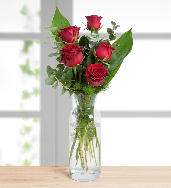 5 Red Roses I Love You