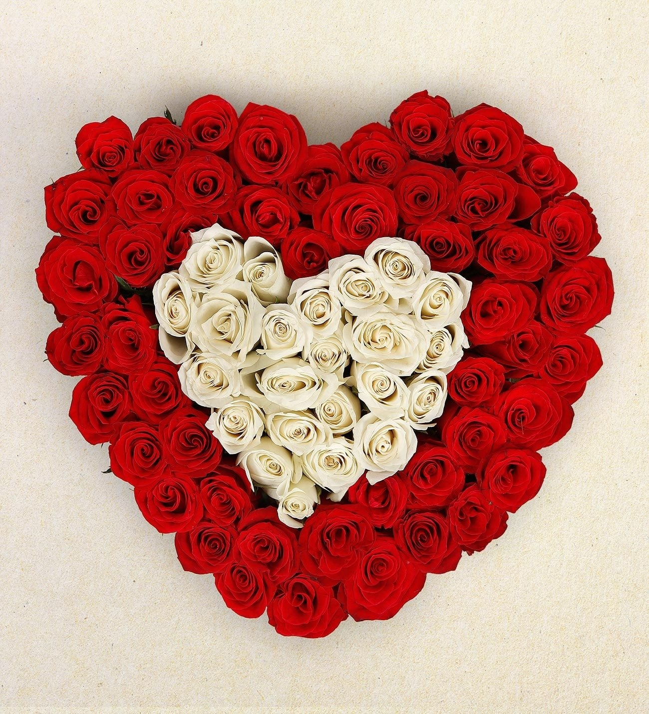 Eternal Love Heart Shaped Funeral Flowers